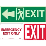 Fire and Exit Signs