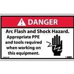 Arc Flash and Inspection Labels