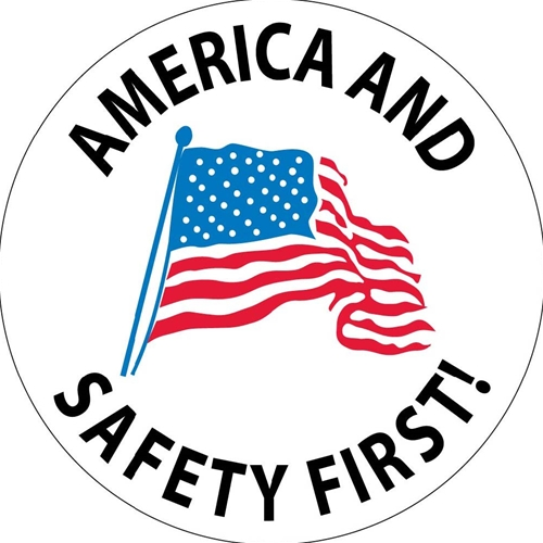 America And Safety First Label (HH61)
