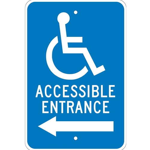 Accessible Entrance Sign (TM150J)
