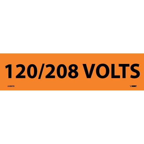 120/208 Volts Electrical Marker (JL2037O)