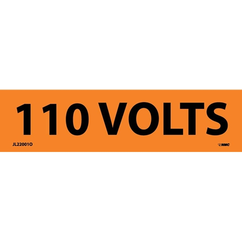 110 Volts Electrical Marker (JL22001O)