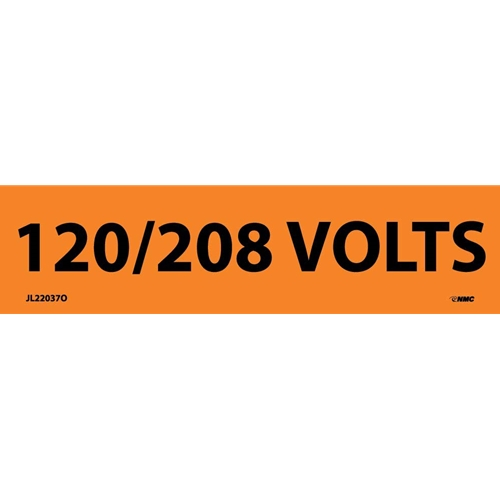 120/208 Volts Electrical Marker (JL22037O)