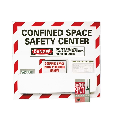 Confined Space Safety Center Paper Hazard Sign (CSC)