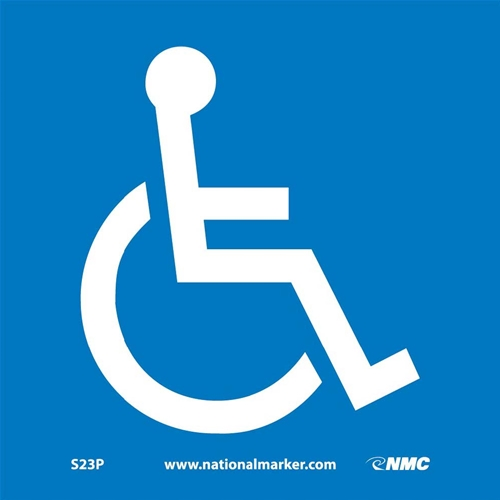 Ada Location Marker Handicapped Sign (S23P)
