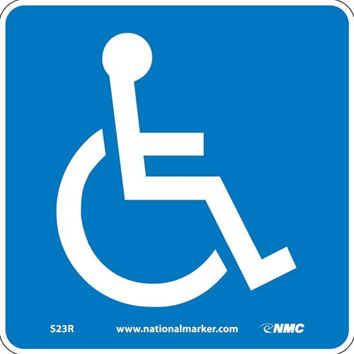 Ada Location Marker Handicapped Sign (S23R)